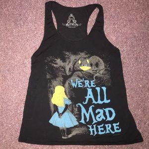 Alice in Wonderland tank